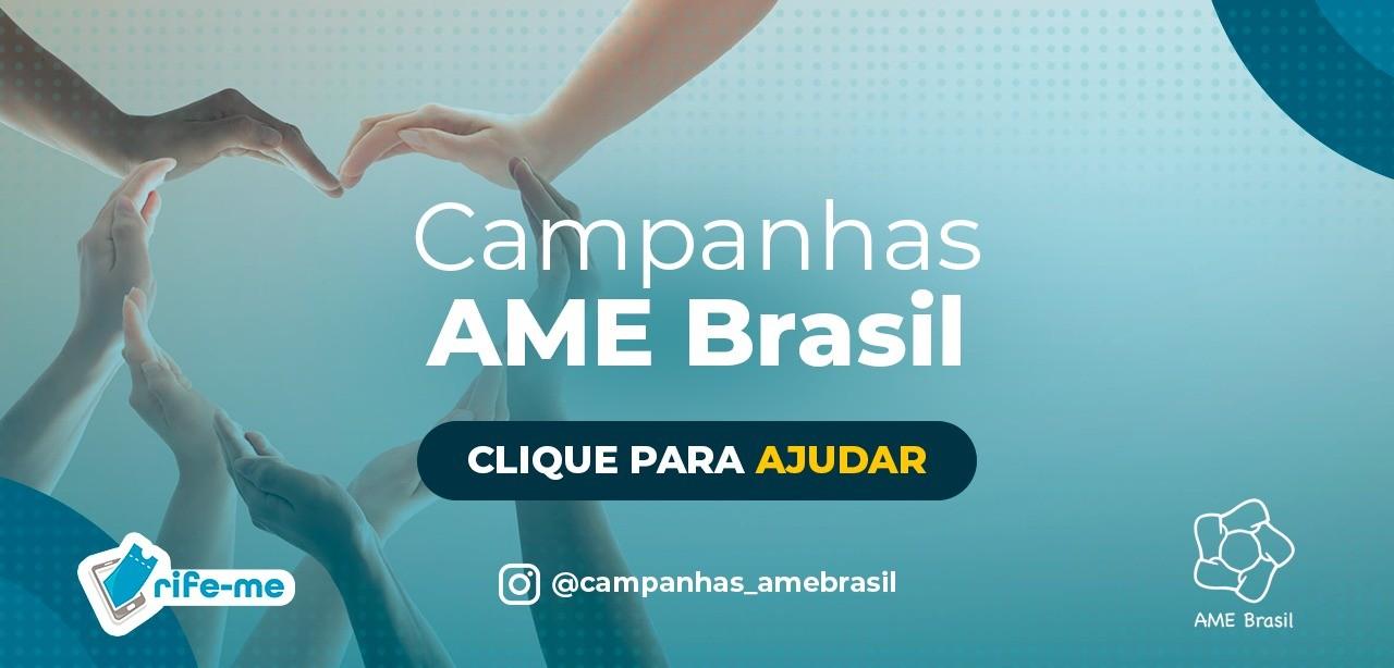 Ajude nas campanhas AME Brasil